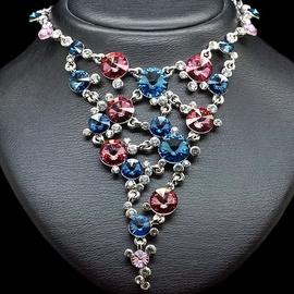 Diamond Sky Necklace Vortex IV With Swarovski Crystals