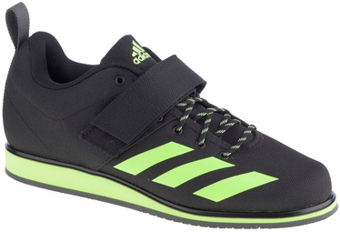 Adidas Powerlift 4 FV6596 Black/Green 40 2/3
