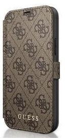 Guess 4G Book Case For Apple iPhone 12/12 Pro Brown