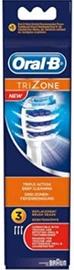 Braun Oral-B TriZone EB30 Electric Toothbrush Brush Heads 3pcs White