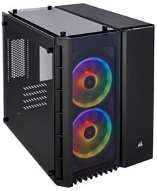 Corsair PC Case Crystal 280X RGB Tempered Glass Black