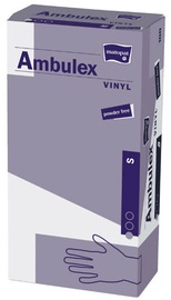 Перчатки Matopat Ambulex, виниловые, без талька, размер S, 100 шт.