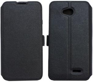 Telone Super Slim Shine Book Case For LG K8 2017 Black