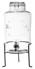 Verners Glass Jar With Tap And Stand 8.5l 24.6x22.5x46.9cm