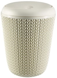 Curver Bathroom Waste Bucket Knit 7L White
