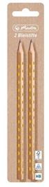 Herlitz Pencils Glam 2pcs