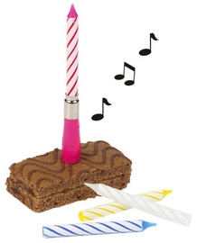 Pap Star Happy Birthday Candle with Music