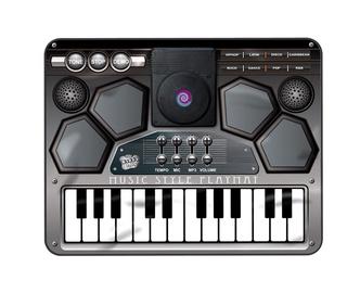 "Muusikamatt ""KLAVER DJ"" (SLW9828; 90X70 cm)"