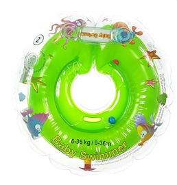 Baby Swimmer Inflatable Neck Ring Green 0-36