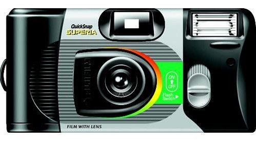 Fujifilm QuickSnap Disposable Camera With Flash