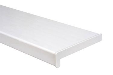 AKNALAUD PVC 150X1000MM VALGE + OTSAD