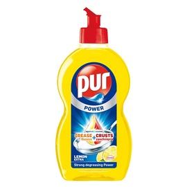 Nõudepesuvahend Pur Duo Power Lemon 450ml