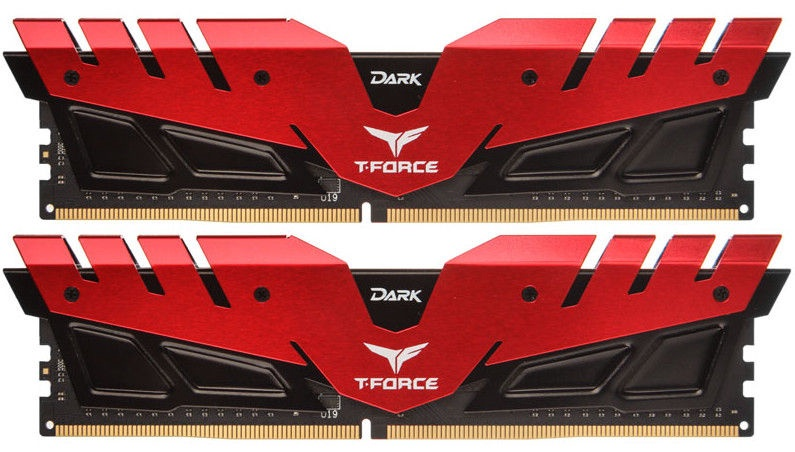 Team Group T-Force Dark Red 16GB 3000MHz CL16 DDR4 KIT OF 2 TDRED416G3000HC16CDC01