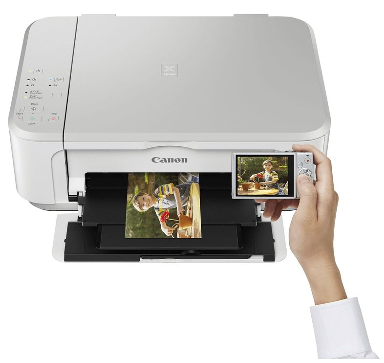 Canon PIXMA MG3650 Inkjet Photo Printer White