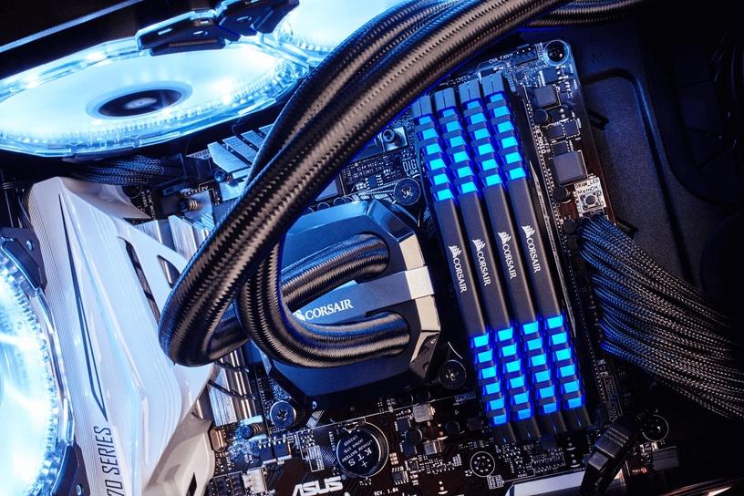 Corsair Vengeance LED 16GB 3000MHz DDR4 CL15 Blue DIMM KIT OF 2 CMU16GX4M2C3000C15B