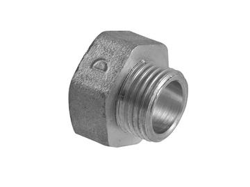 "TDM Brass Adapter I/V 3/4""x1/2"" Silver"