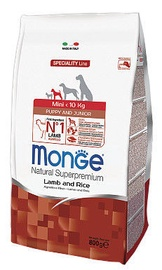 Monge Speciality Line Mini Puppy & Junior Lamb & Rice 800g