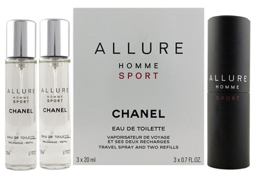 Chanel Allure Sport 3x20ml EDT