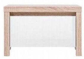 Ночной столик Black Red White Kaspian KOM1S White/Sonoma Oak