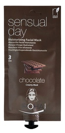 Iroha Nature Peel-Off Moisturizing Creamy Facial Mask Sensual Day 25ml Chocholate