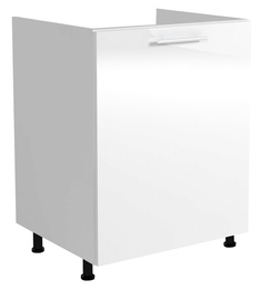 Нижний кухонный шкаф Halmar Under The Sink Vento DK 60/82 White, 600x520x820 мм
