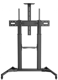 Sbox FS-3610 Floor Ultra-Large LED TV Stand Black