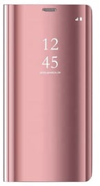 OEM Clear View Case For Samsung Galaxy A41 Pink