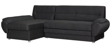 Угловой диван Bodzio Livonia Fabric Dark Gray, левый, 248 x 155 x 89 см