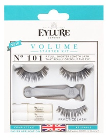Eylure Eyelashes Volume No.101 False Lash Starter Kit