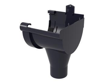 Scala Plastics Pipe Connector PVC D125 Graphite