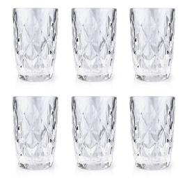 Mondex Elise Clear Glasses 300ml 6pcs