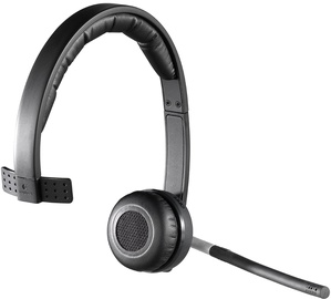 Kõrvaklapid Logitech H820E Mono Black, juhtmevabad