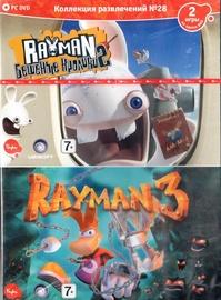 Izklaides Kolekcija 28 - Rayman Raving Rabbids 2, Rayman 3 Russian Version PC