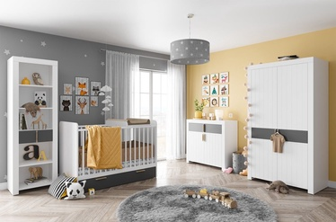 Комплект мебели для детской комнаты Szynaka Meble Picolo White/Grey