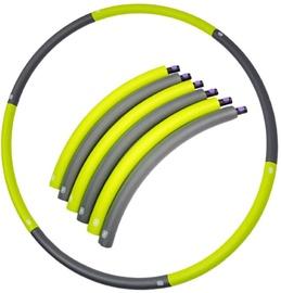 SportVida Hula Hoop Ring 90cm Grey/Green