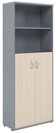 Skyland Imago Office Cabinet CT-1.6 Maple/Metallic