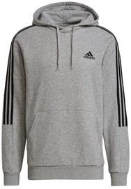 Adidas Essentials Fleece 3 Stripes Sweatshirt GK9583 Grey M