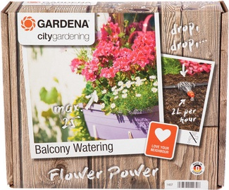 Gardena Fully Automatic Flower Box Watering Set
