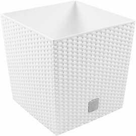 Prosperplast Pot Rato 40x40x40 White