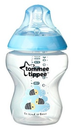 Tommee Tippee Closer To Nature Decorated Feeding Bottle 260ml 42250187