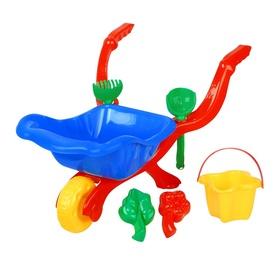 Набор игрушек для песочницы Wheelbarrow, 6 шт.