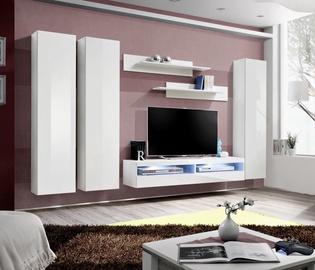 ASM Fly P11 Living Room Wall Unit Set White
