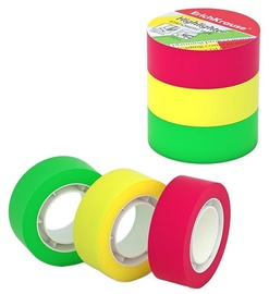 ErichKrause Highlighter Tape 18mmx20m Colored 3pcs