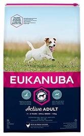 Eukanuba Adult Small Breed Chicken 15kg