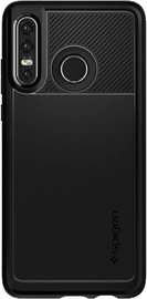 Spigen Rugged Armor Back Case For Huawei P30 Lite Black