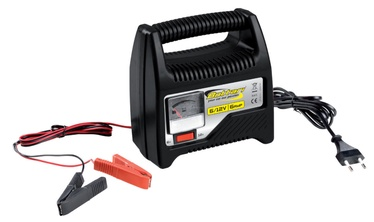 Bottari 8AMP Battery Charger with Amperometer 6/12V 28108