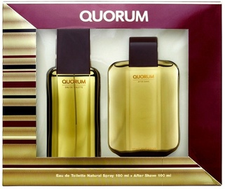 Antonio Puig Quorum 100ml EDT + 100ml Aftershave Balm