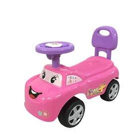 Tõukeauto, roosa