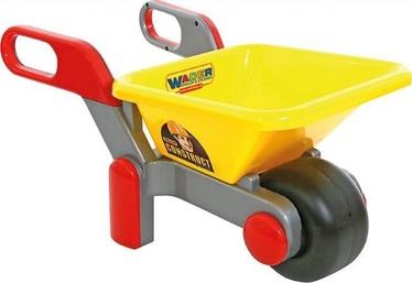 Игрушечная тачка Wader Construction, желтый/серый
