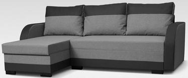 Угловой диван Platan Emil Grey, 230 x 140 x 80 см